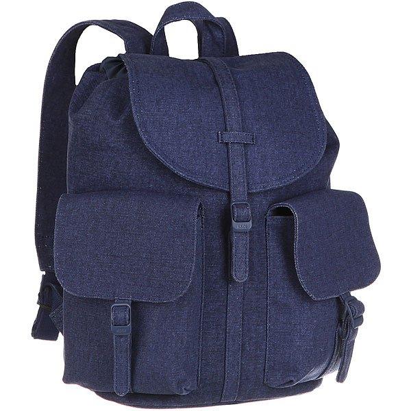 Рюкзак городской женский Herschel Dawson (update) Blue Depth<br><br>Цвет: синий<br>Тип: Рюкзак городской<br>Возраст: Взрослый<br>Пол: Женский