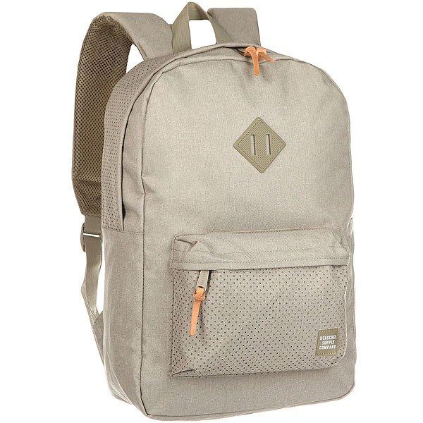 Рюкзак городской Herschel Heritage Dark Khaki<br><br>Цвет: Светло-серый<br>Тип: Рюкзак городской<br>Возраст: Взрослый<br>Пол: Мужской