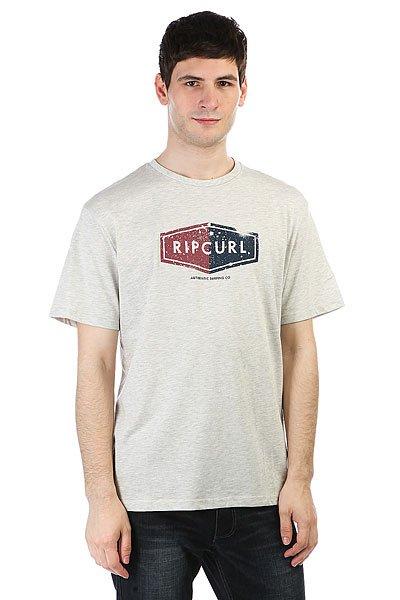 Футболка Rip Curl Losange Logo Tee White Marle<br><br>Цвет: Светло-серый<br>Тип: Футболка<br>Возраст: Взрослый<br>Пол: Мужской