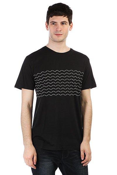 Футболка Rip Curl Wavy Tee Black футболка rip curl stoke merchants arty black