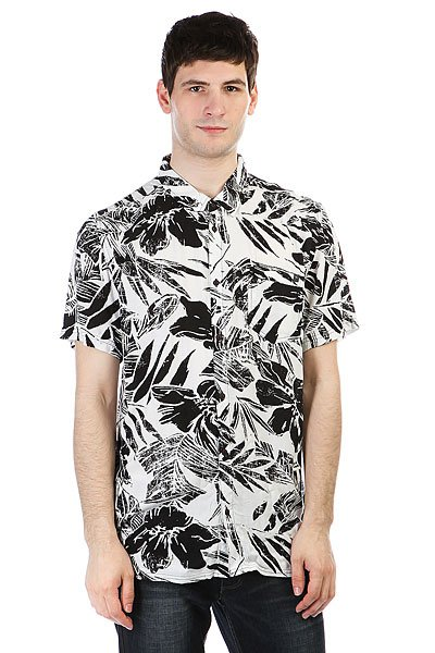 Рубашка Rip Curl Hawaiian Shirt Black лифы rip curl купальник baleare bandeau
