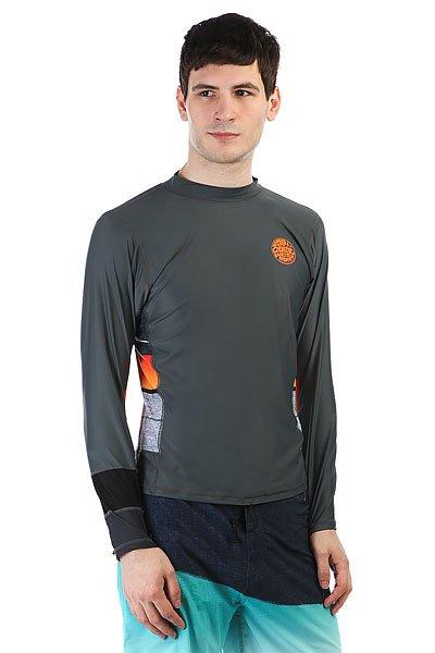Гидрофутболка Rip Curl Aggrolite Relaxed L/S OrangeМужская гидрофутболка свободного кроя с защитой от ультрафиолета.Технические характеристики:Свободный крой.Эластичная ткань с защитой от ультрафиолета UPF 50+.Длинные рукава.<br><br>Цвет: серый,мультиколор<br>Тип: Гидрофутболка<br>Возраст: Взрослый<br>Пол: Мужской