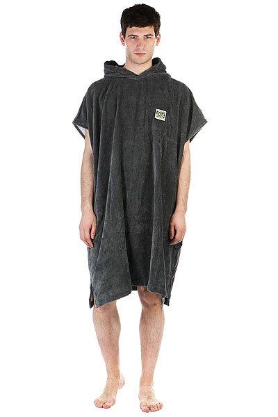 Пончо Rip Curl Lay Day Change Towel Grey<br><br>Цвет: серый<br>Тип: Пончо<br>Возраст: Взрослый<br>Пол: Мужской
