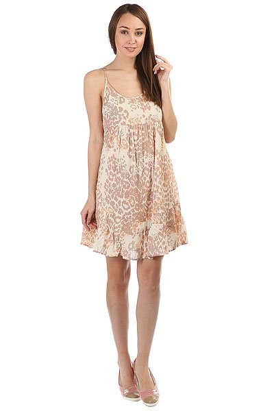 Платье женское Rip Curl Animalia Dress Peach