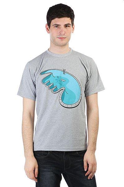 Футболка Anteater Pool Grey<br><br>Цвет: серый<br>Тип: Футболка<br>Возраст: Взрослый<br>Пол: Мужской