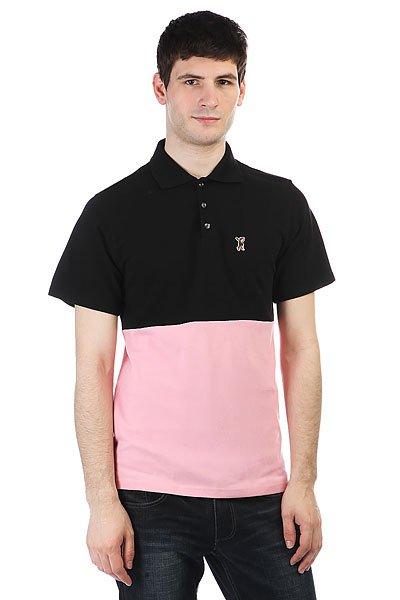 Поло Anteater P023 Black/Pink<br><br>Цвет: черный,розовый<br>Тип: Поло<br>Возраст: Взрослый<br>Пол: Мужской