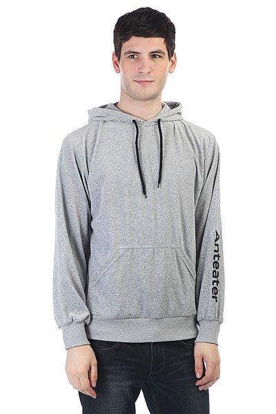 Толстовка кенгуру Anteater Hoodie Luxury Grey<br><br>Цвет: Светло-серый<br>Тип: Толстовка кенгуру<br>Возраст: Взрослый<br>Пол: Мужской