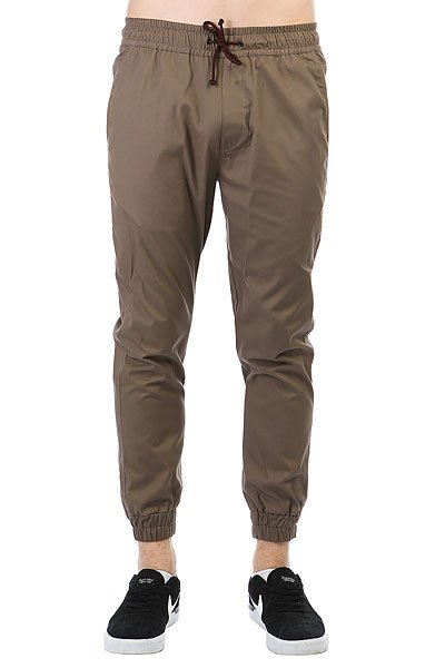 Штаны прямые Anteater Simple Joggers Brown<br><br>Цвет: Светло-коричневый<br>Тип: Штаны прямые<br>Возраст: Взрослый<br>Пол: Мужской