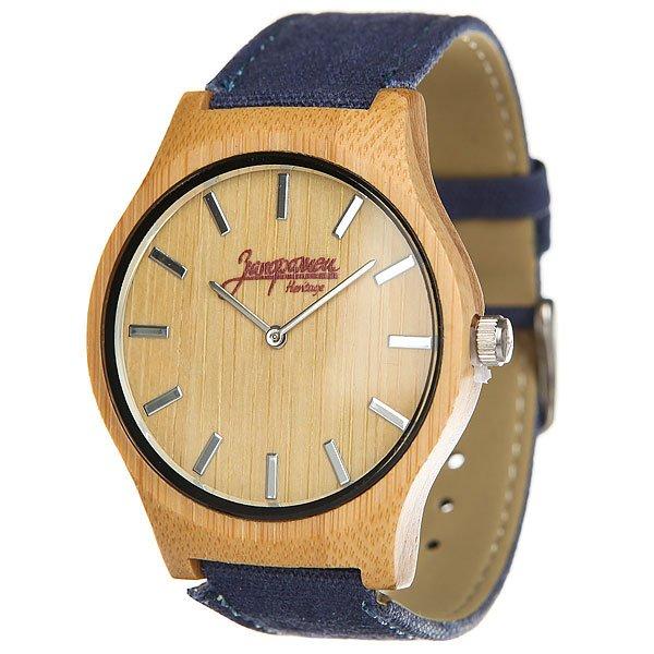 Кварцевые часы Запорожец Бамбук СинийНаручные часы от российского бренда Запорожец, созданные на основе традиционных моделей.Технические характеристики:Корпус из бамбука.Ремешок из парусины и искусственной кожи.Классическа форма.Надежный механизм.Удобна застежка с пржкой.<br><br>Цвет: Светло-коричневый,синий<br>Тип: Кварцевые часы<br>Возраст: Взрослый<br>Пол: Мужской