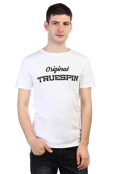 Футболка TrueSpin #3 Snow White<br><br>Цвет: белый<br>Тип: Футболка<br>Возраст: Взрослый<br>Пол: Мужской