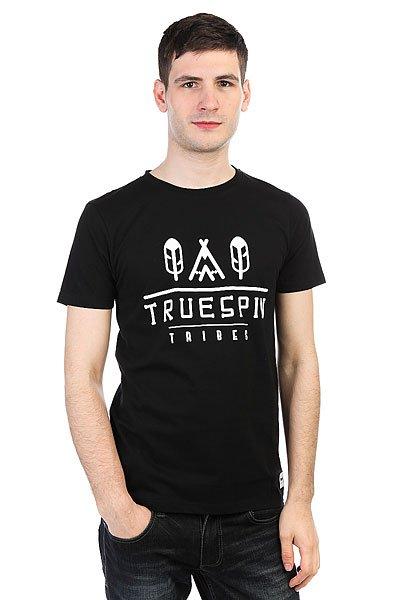 Футболка TrueSpin #8 Deep Black<br><br>Цвет: черный<br>Тип: Футболка<br>Возраст: Взрослый<br>Пол: Мужской