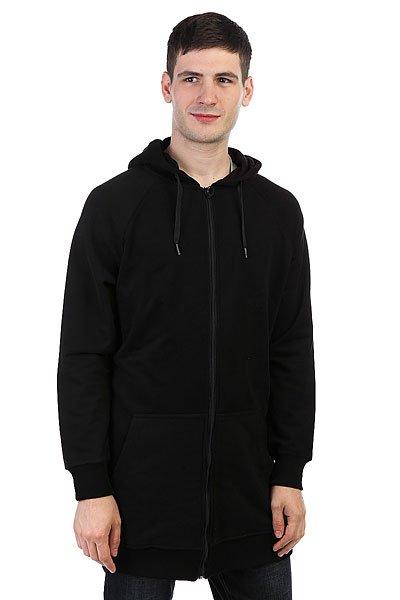 Толстовка классическая НИИ Long Zip Hoodie Черный<br><br>Цвет: черный<br>Тип: Толстовка классическая<br>Возраст: Взрослый<br>Пол: Мужской