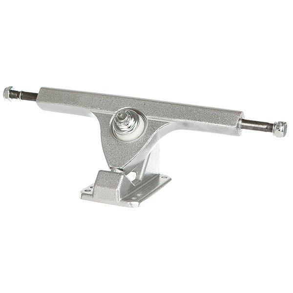 Подвески для скейтборда для лонгборда 2шт. Вираж 7 inch Silver 7 (24.8 см)Незаменимая вещь для любого скейтбордиста - запасные детали для скейта. Надежные и прочные подвески Вираж должны быть всегда под рукой!Технические характеристики: Подвески для лонгборда.Размеры: 17,8 x 6,8 см.В комплекте 2 подвески.<br><br>Цвет: серый<br>Тип: Подвески для лонгборда