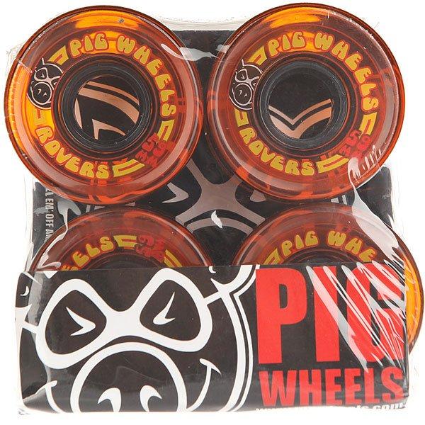 Колеса для скейтборда для лонгборда Pig Rover Orange 78A 59 mmДиаметр: 59 mm    Жесткость: 78A    Цена указана за комплект из 4-х колес<br><br>Цвет: оранжевый<br>Тип: Колеса для лонгборда<br>Возраст: Взрослый<br>Пол: Мужской
