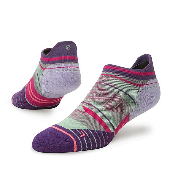 Носки низкие женские Stance Run Womens Motivation Tab Purple носки stance носки ж run womens speed of light ss17