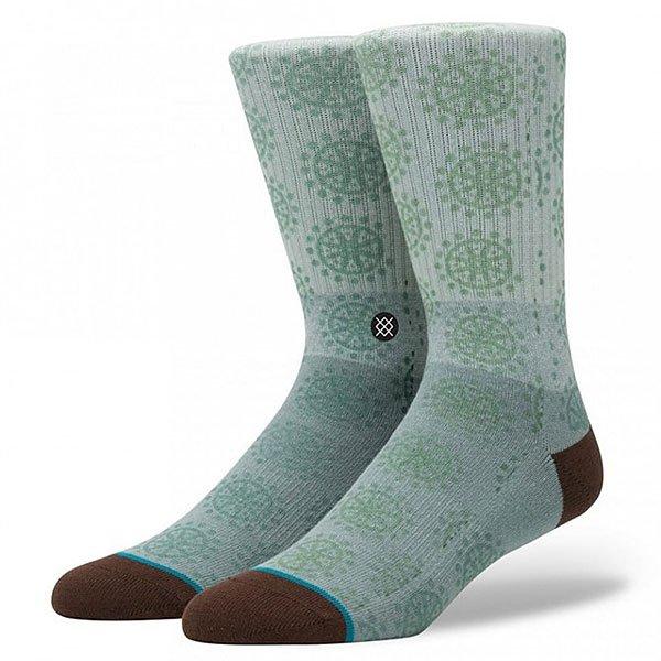 Носки средние Stance Blue Toluca<br><br>Тип: Носки средние<br>Возраст: Взрослый<br>Пол: Мужской