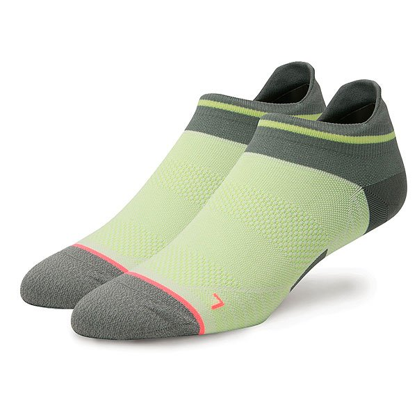 Носки средние женские Stance Run Womens Wind Tab Green носки stance носки ж run womens speed of light ss17