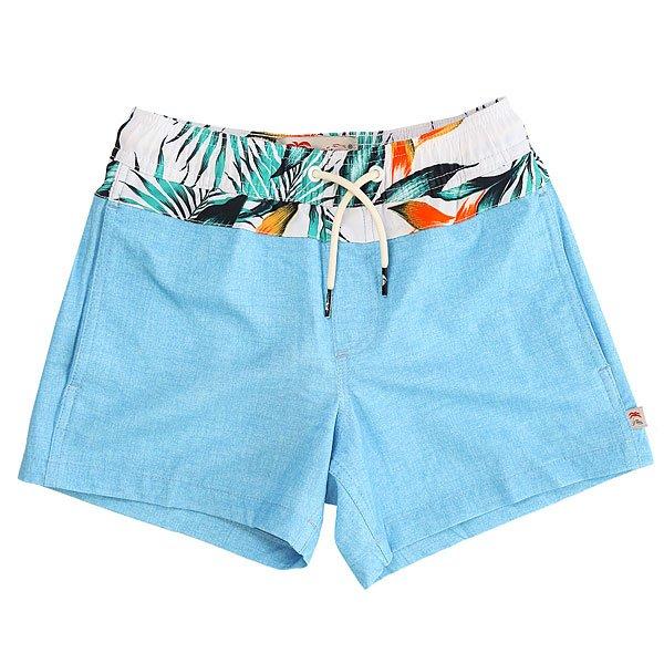 Шорты пляжные детские Quiksilver Inlayvlyouth13 Bonnie Blue<br><br>Цвет: голубой<br>Тип: Шорты пляжные<br>Возраст: Детский