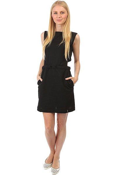 Платье женское Emblem 2XHOLD Black<br><br>Цвет: черный<br>Тип: Платье<br>Возраст: Взрослый<br>Пол: Женский