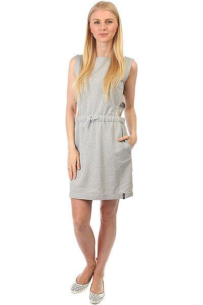 Платье женский Emblem 2XHOLD G Grey<br><br>Цвет: серый<br>Тип: Платье<br>Возраст: Взрослый<br>Пол: Женский