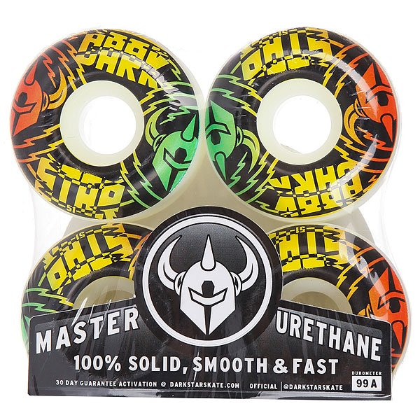 Колеса для скейтборда для скейтборда Darkstar Shock Wheel Rasta 99A 51 mmДиаметр: 51 mm    Жесткость: 99A    Цена указана за комплект из 4-х колес<br><br>Цвет: белый,черный,зеленый,красный,желтый<br>Тип: Колеса для скейтборда<br>Возраст: Взрослый<br>Пол: Мужской