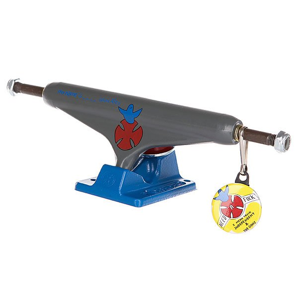 Подвеска для скейтборда 1шт. Independent Gonzales Standard Grey/Blue 6 (22.2 см) подвеска для скейтборда 1шт venture v lght pudwill champ 5 25 20 3 см