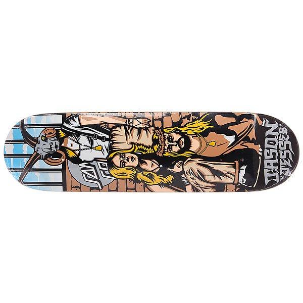 Дека для скейтборда для скейтборда Santa Cruz Jessee Tribute Pro Multi 32.2 x 8.5 (21.6 см)Ширина деки: 8.5 (21.6 см)    Длина деки: 32.2 (81.8 см)    Количество слоев: 7<br><br>Цвет: мультиколор<br>Тип: Дека для скейтборда<br>Возраст: Взрослый<br>Пол: Мужской