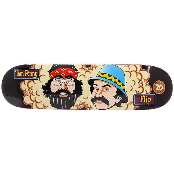Дека для скейтборда для скейтборда Flip Penny Toms Friends 20th Anniversary Pro Black 32 x 8.13 (20.7 см)