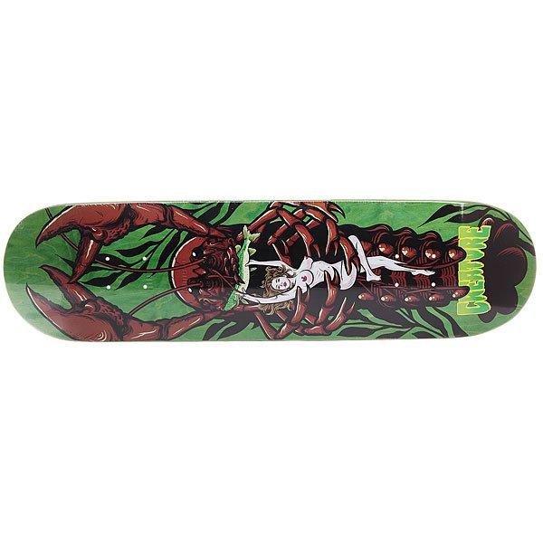 Дека для скейтборда для скейтборда Creature Creek Freaks Team Green/Multi 31.7 x 8.125 (20.6 см)Ширина деки: 8.125 (20.6 см)    Длина деки: 31.7 (80.5 см)    Количество слоев: 7<br><br>Цвет: зеленый,мультиколор<br>Тип: Дека для скейтборда<br>Возраст: Взрослый<br>Пол: Мужской