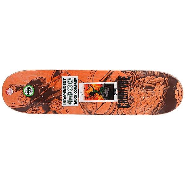 Дека для скейтборда для скейтборда Creature Gravette Viscerous Pro Green/Multi 32.04 x 8.25 (21 см)