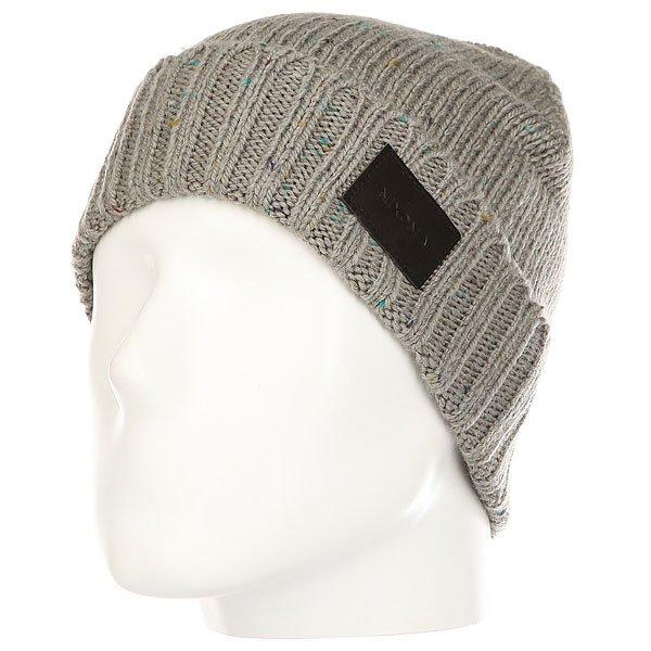 Шапка Nixon Kemble Beanie Gray шапка носок nixon tower beanie navy heather