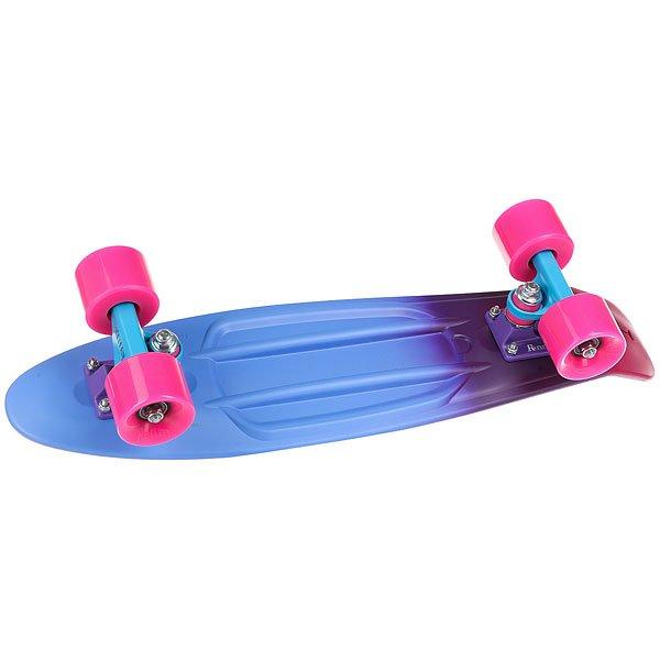 Скейт мини круизер Penny Original 22 Ltd Melt 6 x 22 (55.9 см)<br><br>Цвет: бордовый,синий<br>Тип: Скейт мини круизер<br>Возраст: Взрослый<br>Пол: Мужской