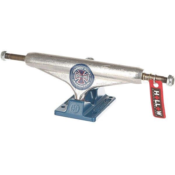 Подвеска для скейтборда 1шт. Independent Hollow Grant Taylor Standard Silver/Blue 5.875 (21.9 см)Ширина подвесок: 5.875 (21.9 см)    Высота подвесок: 58 мм    Цена указана за 1 шт    Минимальное количество для заказа 2 шт<br><br>Цвет: синий,серый<br>Тип: Подвеска для скейтборда<br>Возраст: Взрослый<br>Пол: Мужской