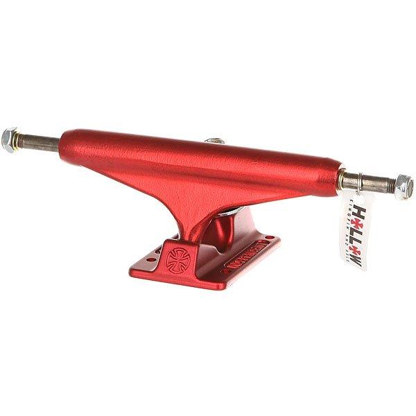 Подвеска для скейтборда 1шт. Independent Forged Hollow Standard Ano Red 6 (22.2 см)Ширина подвесок: 6 (22.2 см)    Высота подвесок: 58 мм    Цена указана за 1 шт    Минимальное количество для заказа 2 шт<br><br>Цвет: красный<br>Тип: Подвеска для скейтборда<br>Возраст: Взрослый<br>Пол: Мужской
