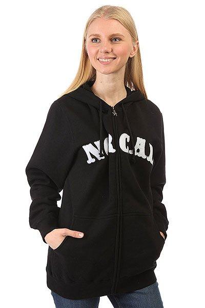 купить Толстовка классическая женская Nor Cal Nautical Black по цене 3850 рублей