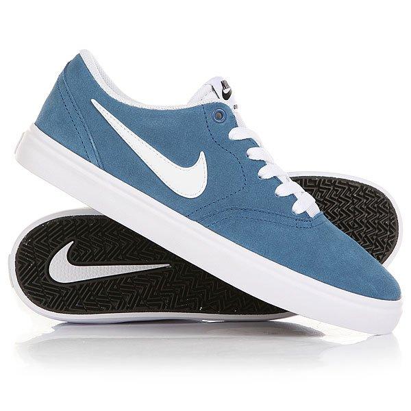 Кеды кроссовки низкие Nike SB Check Solar Industrial Blue843895-410<br><br>Цвет: синий<br>Тип: Кеды низкие<br>Возраст: Взрослый<br>Пол: Мужской