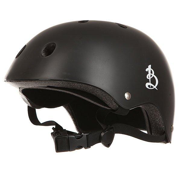 Шлем для скейтборда Вираж Шлем BlackЗащитный шлем предназначен для катания на роликах, скейте, самокате, велосипеде и других видах транспорта. Характеристики:Выполнен из безопасных материалов. Выполнен из пенопласта в комбинации с губкой для максимальной безопасности. Верх шлема имеет глянцевое покрытие с вентиляцией. Шлем имеет систему регулировки размера.Регулируемые ремешки крепления.<br><br>Цвет: черный<br>Тип: Шлем для скейтборда