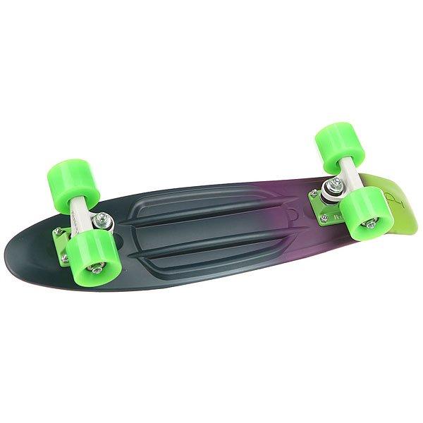 Скейт мини круизер Penny Original 22 Ltd Neon Shadow 6 x 22 (55.9 см)Лонгборд Penny Original 22 LTD - это апгрейд классики из 70-х, исполненный в оригинальном цветовом решении. Это то, с чего всё началось, вся идея Penny в одном скейтборде. Это веселье, свобода и самое высокое качество всех компонентов. Основное достоинство данной модели - универсальность, ведь размер, вес и легкость в управлении делают скейтборд прекрасным средством передвижения в любой день и в любых условиях.Характеристики:Вес: 2,7 кг. Подвеска:Custom 3.Колёса: 59 мм жесткостью 78А. Подшипники: Penny Abec 7.<br><br>Цвет: зеленый,Темно-синий,фиолетовый<br>Тип: Скейт мини круизер