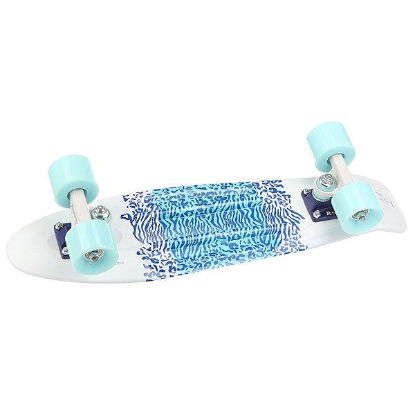 Скейт мини круизер Penny Original 22 Ltd Safari Road 6 x 22 (55.9 см)<br><br>Цвет: белый,голубой,синий<br>Тип: Скейт мини круизер