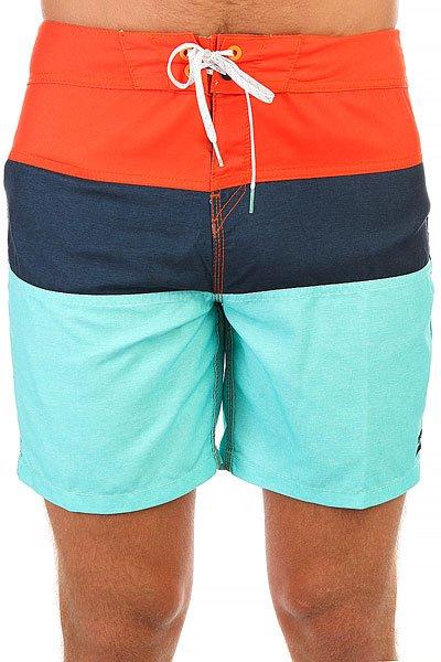 Шорты пляжные Billabong Tribong Og 17 Mint<br><br>Цвет: синий,оранжевый,голубой<br>Тип: Шорты пляжные<br>Возраст: Взрослый<br>Пол: Мужской