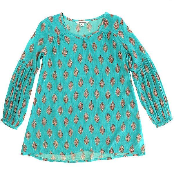 Платье детское Billabong Festival Child Carribean<br><br>Цвет: голубой<br>Тип: Платье<br>Возраст: Детский