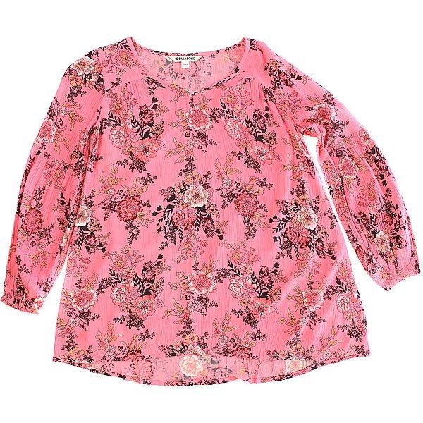 Платье детское Billabong Festival Child Coral Shine<br><br>Цвет: розовый<br>Тип: Платье<br>Возраст: Детский