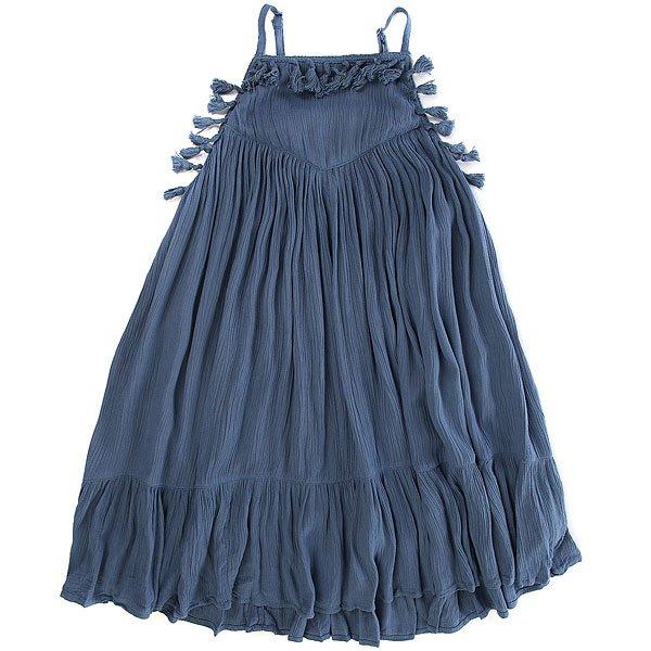 Платье детское Billabong No Hassel Blue Jay<br><br>Цвет: синий<br>Тип: Платье<br>Возраст: Детский