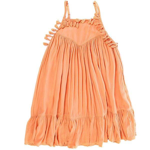 Платье детское Billabong No Hassel Nectar<br><br>Цвет: оранжевый<br>Тип: Платье<br>Возраст: Детский