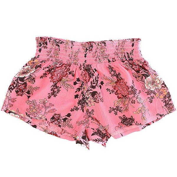 Шорты классические детские Billabong Spin Round Coral Shine<br><br>Цвет: розовый<br>Тип: Шорты классические<br>Возраст: Детский
