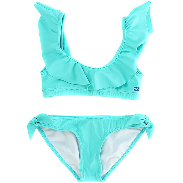 Купальник детский Billabong Sol Sear. Ruffle Set Carribean купальник детский billabong efie flounce set multi