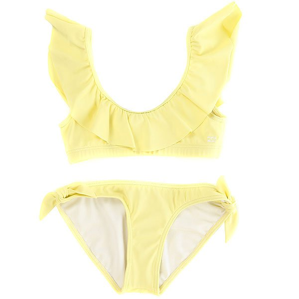 Купальник детский Billabong Sol Sear. Ruffle Set Sunkissed