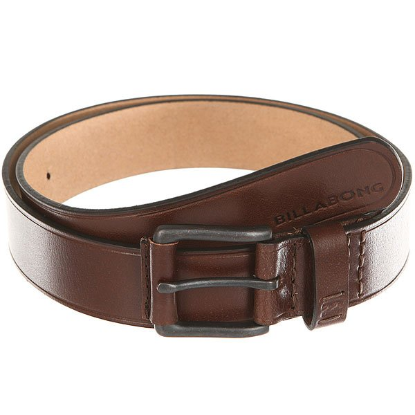 Ремень Billabong Curva Leather Belt Chocolate иван комлев ковыль