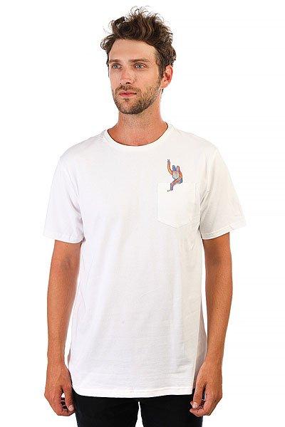 Футболка Billabong Cavalcade-lb White<br><br>Цвет: белый<br>Тип: Футболка<br>Возраст: Взрослый<br>Пол: Мужской