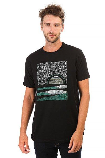 Футболка Billabong Sunset-abel Black<br><br>Цвет: черный<br>Тип: Футболка<br>Возраст: Взрослый<br>Пол: Мужской